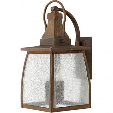 Montauk large wall lantern - Sienna