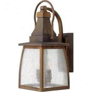Montauk medium wall lantern - Sienna
