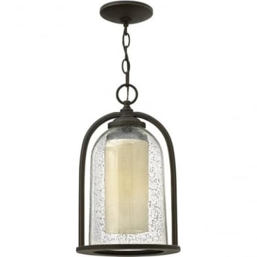 Quincy chain lantern - Bronze