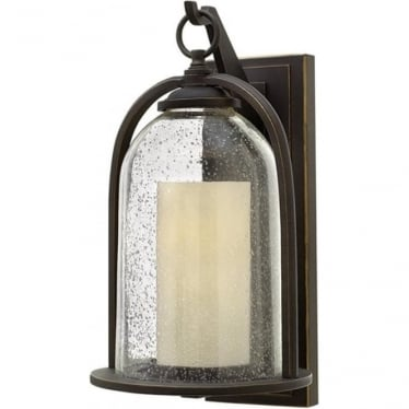 Quincy medium wall lantern - Bronze