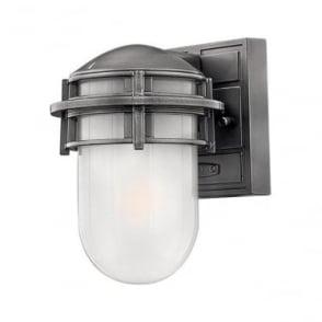 Reef Mini wall lantern - Hematite