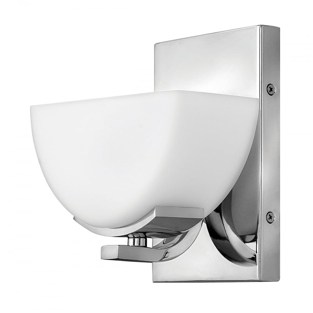 Hinkley lighting hinkley lighting verve single light bathroom led verve single light bathroom led wall light ip44 polished chrome aloadofball Images