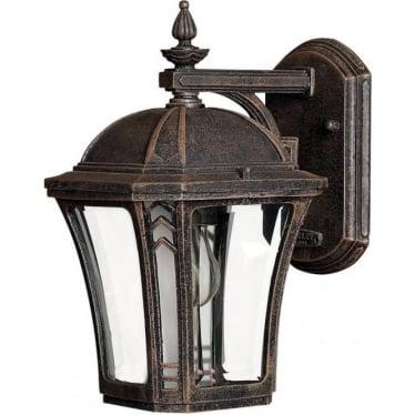 Wabash Small Wall Lantern Mocha