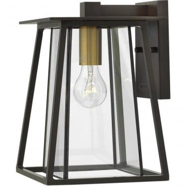 Walker Medium Wall Lantern Buckeye Bronze