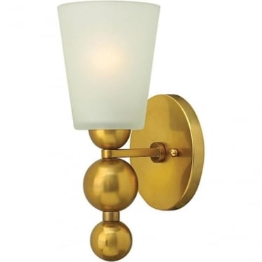 Zelda Wall Light Vintage Brass