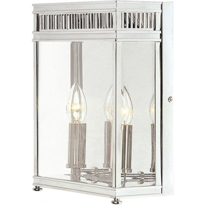 Elstead Lighting Holborn Half Lantern Medium - Polished Chrome