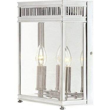Holborn Half Lantern Medium - Polished Chrome