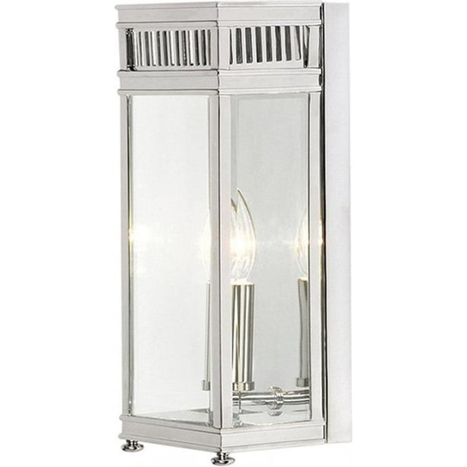 Elstead Lighting Holborn Half Lantern Small - Polished Chrome