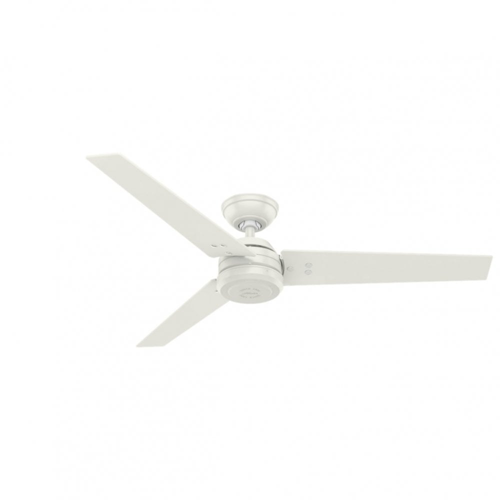 Protos 132cm Fan Without Lights Wall Controlled Fresh White Moonlight Design