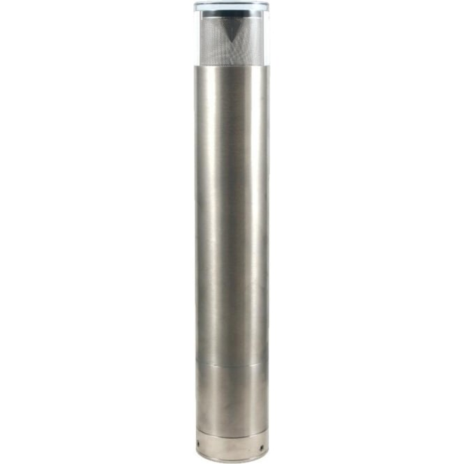 Hunza Outdoor Lighting Bollard 700mm (flange) - stainless steel - Low Voltage