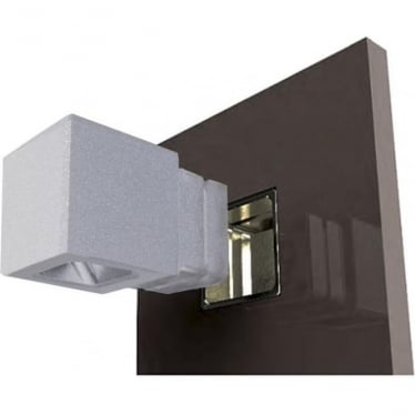 Cube Recessed Cloak - Powder coat colours
