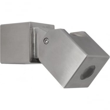 Cube Wall Light - stainless steel - Low Voltage