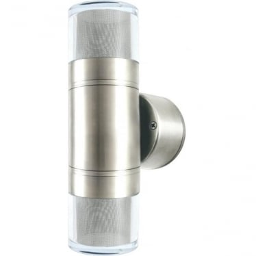 Double Pagoda Light GU10 - stainless steel- MAINS