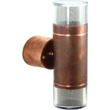 Double Pagoda Light Retro - copper- MAINS