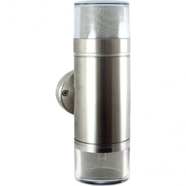 Double Pagoda Light Retro - stainless steel- MAINS