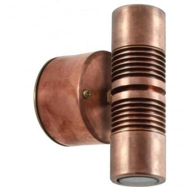 Euro  Pillar Light Retro - copper - MAINS