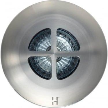 Floor Light Clover Design - stainless steel