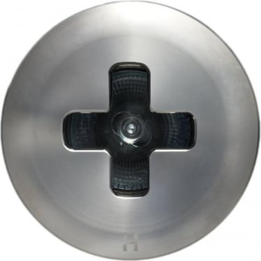 Floor Light Dark Lighter Cross Design - stainless steel  - Low Voltage