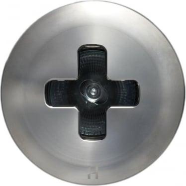 Floor Light Dark Lighter Cross Design - stainless steel