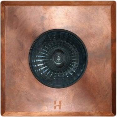 Floor Light Dark Lighter Square Spot Design - copper