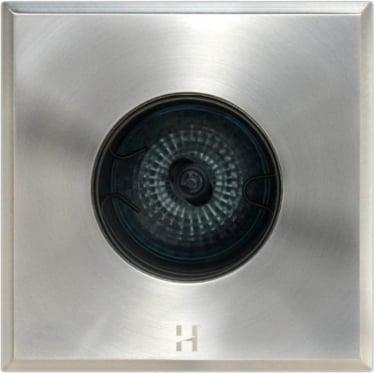Floor Light Dark Lighter Square Spot Design - stainless steel