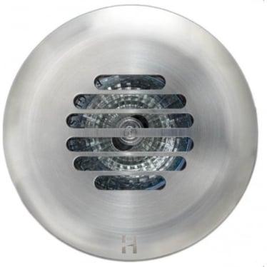 Floor Light Grill Design - stainless steel