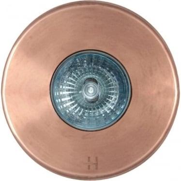 Floor Light Spot Design - copper
