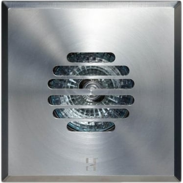 Floor Light Square Grill Design - stainless steel - Low Voltage