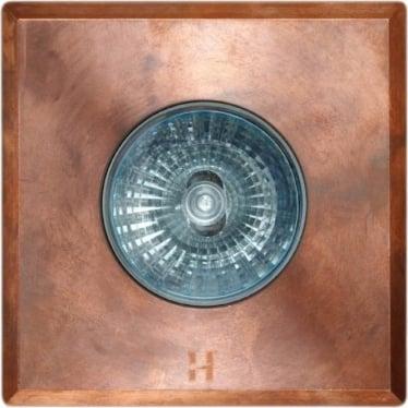 Floor Light Square Spot Design - copper