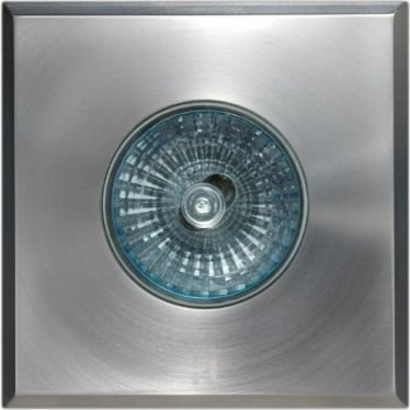 Floor Light Square Spot Design - stainless steel  - Low Voltage