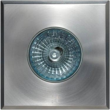 Floor Light Square Spot Design - stainless steel