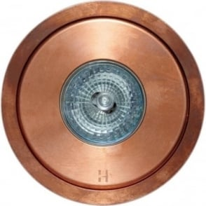 Flush Floor Light - copper - Low Voltage