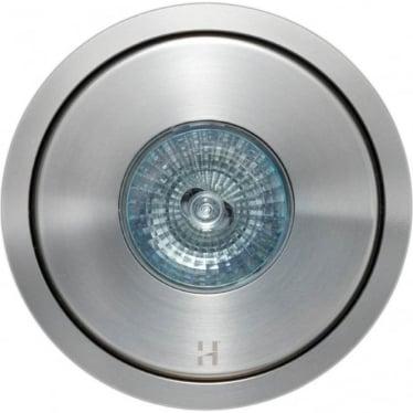 Flush Floor Light GU10 - stainless steel- MAINS