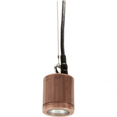 Hanging Light - copper - Low Voltage