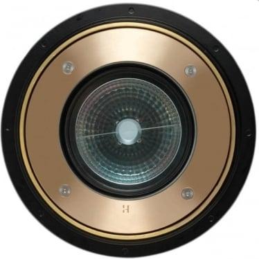 Inground 1-11 Retro (230V Mains) - Solid Bronze