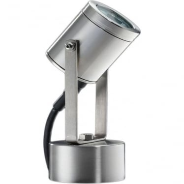 Pond light with weighted base - stainless steel - Low Voltage