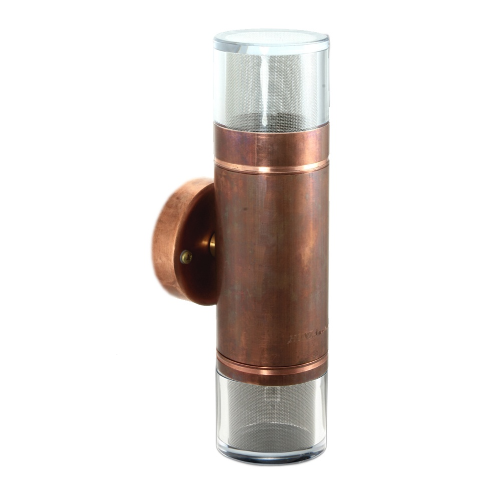 PURE LED Double Pagoda Light - copper - Low Voltage