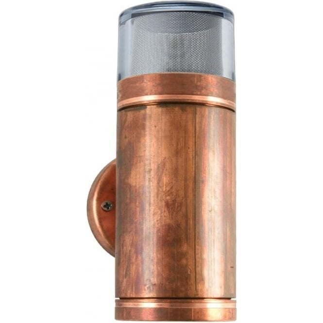 Hunza Outdoor Lighting PURE LED Dual Lighter Copper Hunza Outdoor Lightin