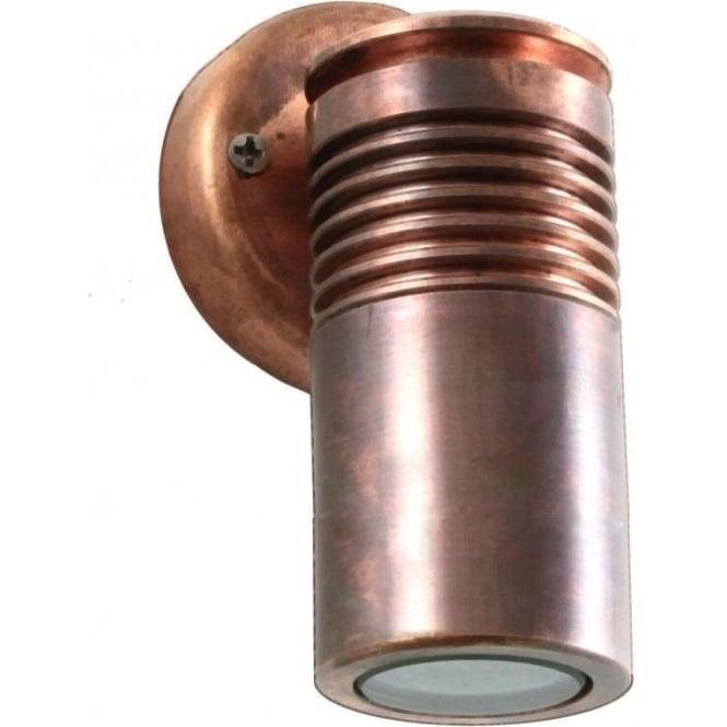 Hunza Outdoor Lighting PURE LED Euro Wall Down Light - copper - Hunza Outdoor Lighting from ...