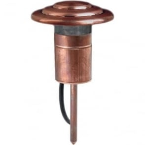 PURE LED Fern Light - copper - Low Voltage