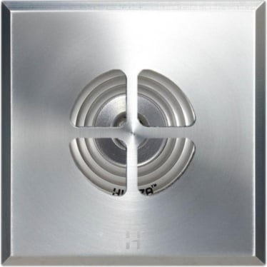 PURE LED Floor Light Clover Square - stainless steel