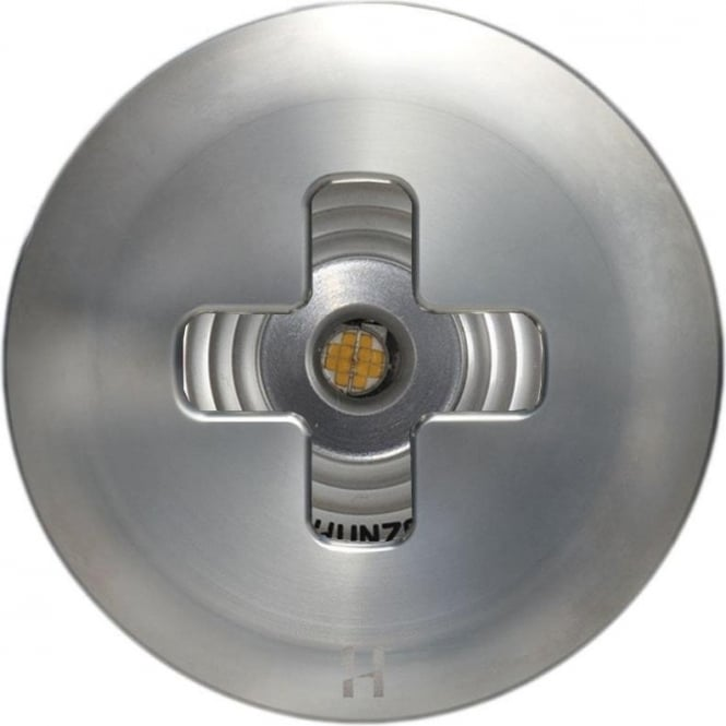 Hunza Outdoor Lighting PURE LED Floor Light Cross- stainless steel - Low Voltage