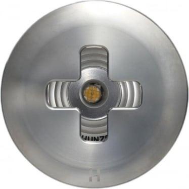 PURE LED Floor Light Cross- stainless steel