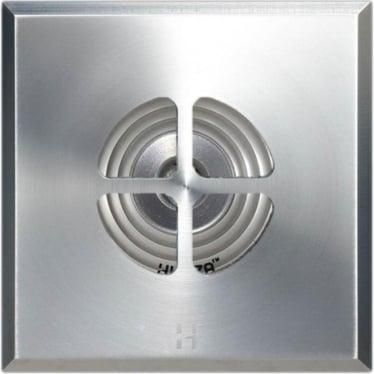 PURE LED Floor Light Dark Lighter Clover Square - stainless steel