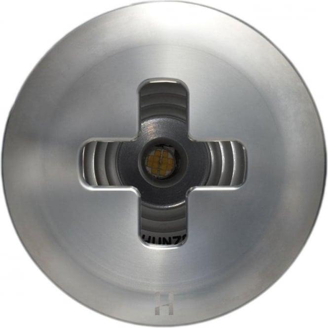 Hunza Outdoor Lighting PURE LED Floor Light Dark Lighter Cross- stainless steel - Low Voltage