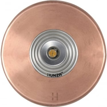 PURE LED Floor Light Spot - copper - Low Voltage