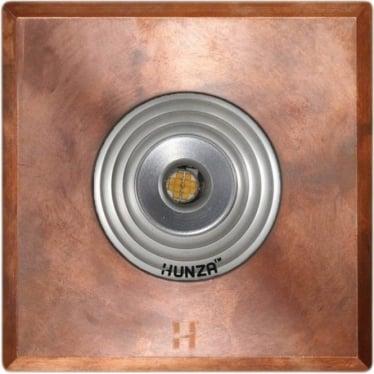 PURE LED Floor Light Spot Square - copper