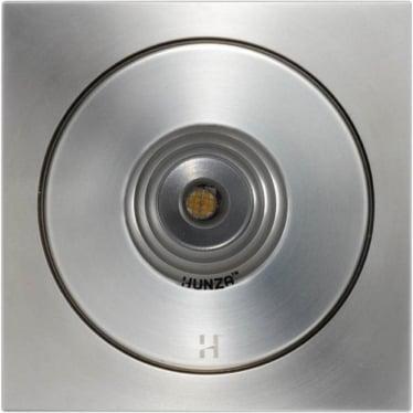PURE LED Flush Floor Light Square- stainless steel