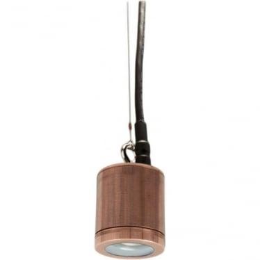 PURE LED Hanging Light - copper - Low Voltage