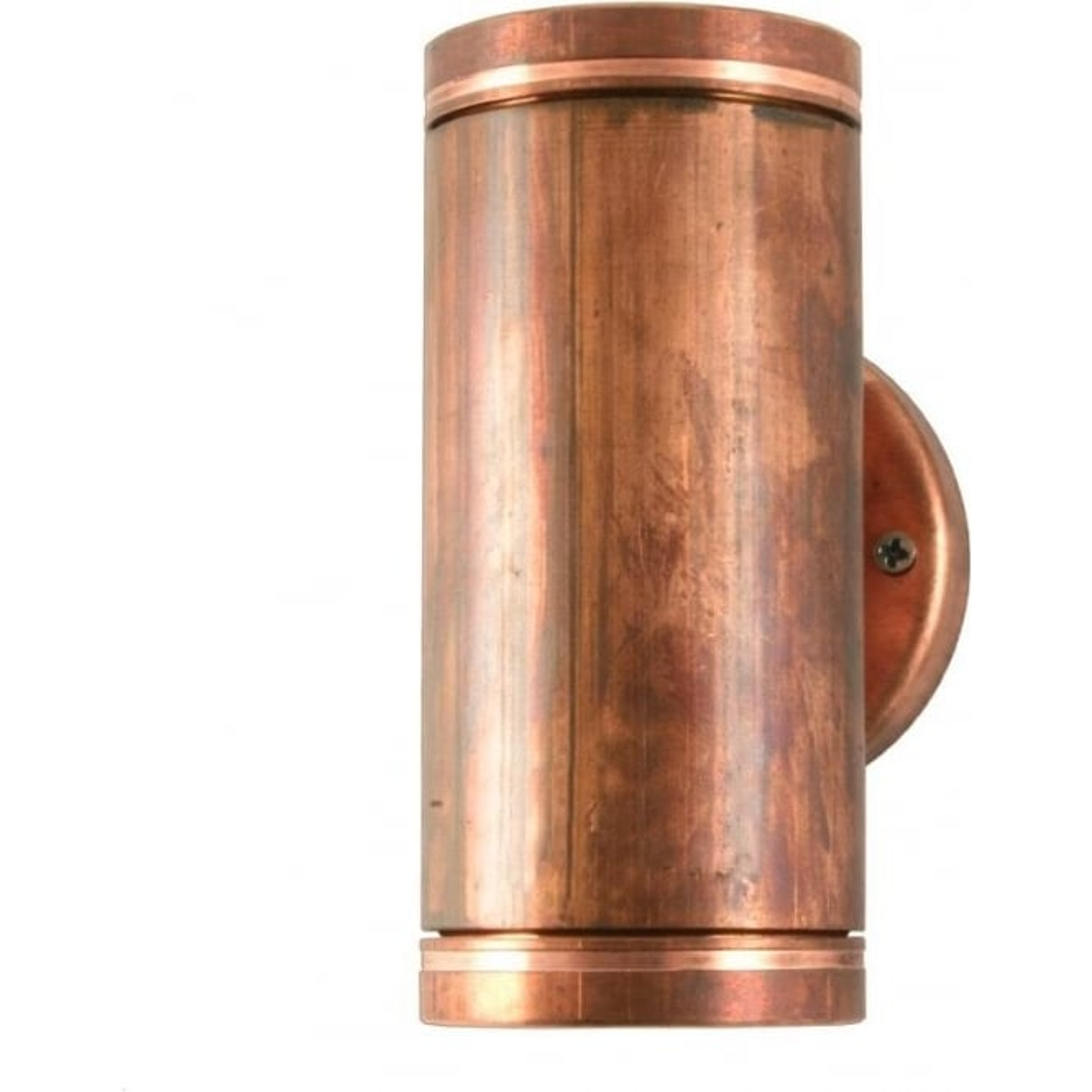 Hunza Outdoor Lighting PURE LED Pillar Light Copper Hunza Outdoor Lightin